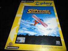 Supreme Snowboarding   PC  game