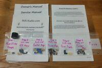 Pioneer SX-424 SX-626 rebuild restoration recap service kit fix repair capacitor