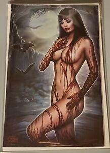 Vampirella #16 Nate Szerdy EXCLUSIVE VIRGIN COVER Sexy Ltd 400 NM
