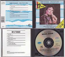 "Michael Jackson THE 12"" MIXES Compilation CD AUSTRALIA OFFICIAL 1988"