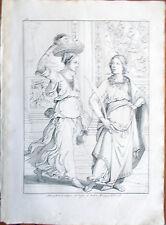 Stampa incisione 1850s-Altra pittura a tempera su legno di Andrea Mantegna-CXL