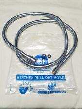 """Replacement Kitchen Pull Out Hose 59"""" Chrome Finish"""