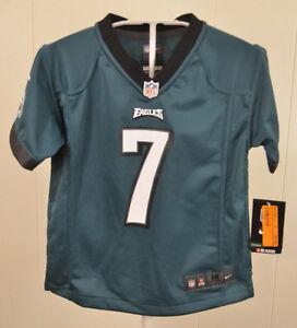 New Nike Philadelphia Eagles #7 Michael Vick NFL Jersey Youth Medium 5-6 Green
