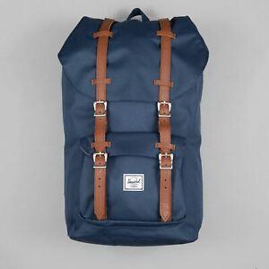 HERSCHEL Little America Backpack in NAVY & TAN