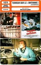 FICHE CINEMA : TERREUR SUR LE BRITANNIC - Harris,Sharif,Lester 1974 Juggernaut