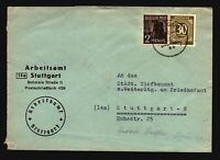 Germany 1947 Mixed Period Franking Cover to Stuttgart (I) - Z14427