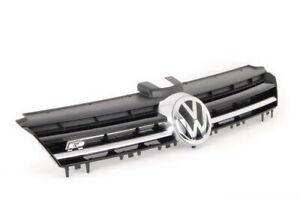 New Genuine Volkswagen GOLF Front Center Radiator Grill 5G0853651EADQ OEM