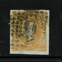 Portugal SC# 18, Used, left side embossing tear - S3170