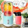 2 Cup USB Electric Fruit Juicer Smoothie Maker Blender Rechargeable Juice Cup
