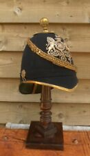 Victorian  - Royal Artillery Blue Home Service Helmet  - British Army