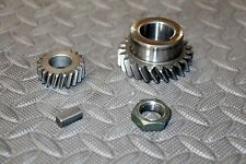 Yamaha Banshee Crank crankshaft gear counterbalance keyway waterpump 1987-2006