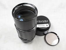 PENTAX SUPER MULTI COATED TAKUMAR 200mm f4 m42  SCREW MOUNT LENS MINT