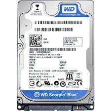 WD Scorpio 320 GB Internal hard drive 300 MBps 5400 rpm