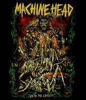 MACHINE HEAD cd lgo LOCUST REAPER Official SHIRT LRG New oop