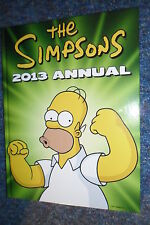 THE SIMPSONS 2013 ANNUAL HOMER BART LISA MARGE SIDESHOW BOB DUFF BEER MR BURNS