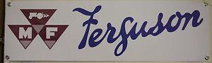 massey ferguson 35 35s 130 135 133 145 148 large pvc WORK SHOP BANNER garage