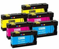 6Pk PGI1200 PGI-1200XL Color Ink Cartridge For Canon MB2320 MB2720 MAXIFY MB2020