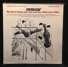 Various-Swingin'-Big Band Swing and Jazz-Folkways 2861-Sealed Nos Dsm
