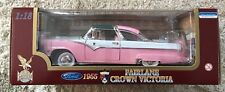 "1955 Ford Fairlane Crown Victoria Pink 1/18"" Scale by Road Legends (JVE:217)"