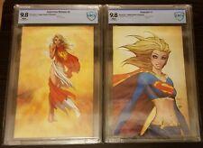 Superman Batman #8 & Supergirl #1 Michael Turner Virgin Variant CBCS not CGC 9.8