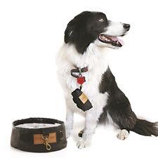 Didgeridoonas Doggies Oilskin Drizabone Type Portable Dog Water Bowl