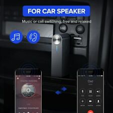 UGREEN V5.0 Wireless Bluetooth Car Receiver 3.5mm AUX Audio Music Adapter Mic