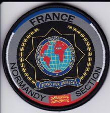 écusson NEUF / Patch International Police Association