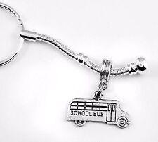 School Bus jewelry School Bus key chain gift School Bus Present School keychain
