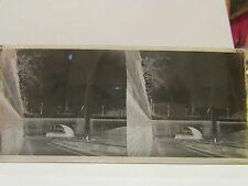 ancien plaque verre stereo photo paris pont de la tournelle ste genevieve n dame