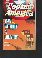 Captain America: Man Without a Country by Waid & Garney 1998 TPB Marvel OOP