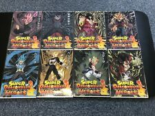 Super Dragon Ball Heroes Ichiban Kuji H Prize A4 Clear File ALL 8 Set Japan