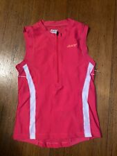 Zoot Triathlon Jersey Womens Small Red - Slight Discoring