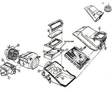 Mustang Heater Box Seal Kit with A/C 1971 1972 1973 - Daniel Carpenter