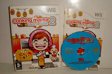 JEU NINTENDO  WII - COOKING MAMA 2 TOUS A TABLE COMPLET