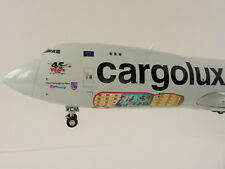 Herpa Wings 1 200 Boeing 747-8 Cargolux Lx-vcm 45th aniversario 558228