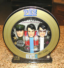 Elvis Presley 3 Pez Collectibles Limited Tin Elivs CD Included Factory Sealed