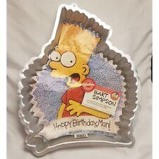 Wilton Bart Simpson Cake Aluminum Baking Pan 2105-9002 with insert
