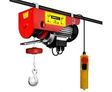 NEW 400/800KG 1300W ELECTRIC HOIST WINCH GARAGE WAREHOUSE LIFT JOB HEAVY DUTY