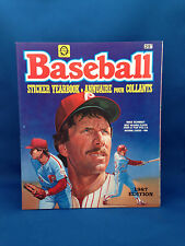 Baseball Sticker Yearbook 1987 Edition NEW