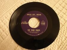 TEEN THE FOUR PREPS DREAM BOY DREAM/GROUNDED  CAPITOL 4568  M-