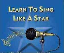 Learn to Sing Like a Star Voice Training Lessons Singing Vocal on CD DVD