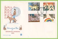 G.B. 1981 Disabled set on Stuart First Day Cover, Petersfield