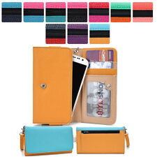 Protective Wrist-Let Case Clutch Cover & Organizer for Smart-Phones KroO XLMT8