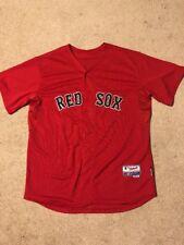 Boston Red Sox Mens Majestic Cool Base Replica Jersey Size 52 EUC