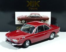KK-Scale 1:18 > BMW 2000 CS Coupe darkred - Baujahr 1965 ->> Neu >> OVP >> 1:18