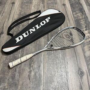Dunlop Aerogel 130 Squash Racquet Racket With bag