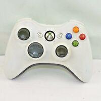 Microsoft B4F-00014 Xbox 360 Wireless Controller for 360 Console White Untested