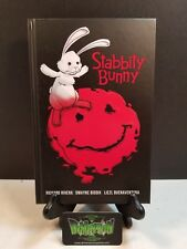 STABBITY BUNNY #1 2 3 4 5 6 HARDCOVER VERY RARE first edition SIGNED BY RIVERA