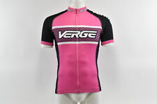 Verge Women's Elite Race Short Sleeve Cycling Jersey, Pink/Black, Xs, Brand New