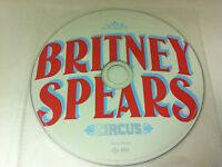 Britney Spears Circus Music CD Album 2008 - DISC ONLY in Plastic Sleeve